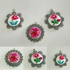 Crossstitch Necklace