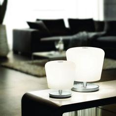 SKAPETZE -    Touch L / LED-Tischleuchte 28 cm mit Touchdimmer / 720 Lumen / Nickel-Matt Innenleuchten Tischleuchten