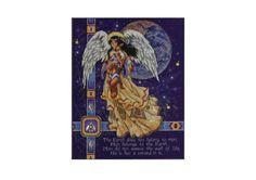 Native Angel - 1/5 PATRONES DE PUNTO DE CRUZ- HADAS, NINFAS ,UNICORNIOS Y OTROS SERES MAGICOS (pág. 3) | Aprender manualidades es facilisimo.com