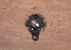 Felix gem crystal brooch pin#shop online.