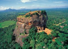 Sigiriya rock fortress and palace, Sri Lanka