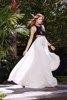 Halston Heritage Resort 2016 Fashion Show Look 7
