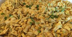 Zomerse pastasalade met fruit en kerriekruiden - Lekker eten met Marlon