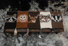 the woodsy association KNITTING PATTERN by TinyOwlKnitsPatterns, $7.99