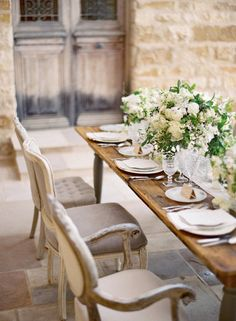 style me pretty - photo shoot - usa - california - santa ynez - sunstone winery - reception decor - table decor - place setting
