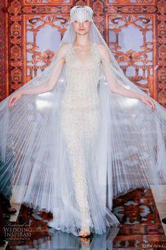 Reem Acra Bridal Fall 2013 Wedding Dresses | Wedding Inspirasi