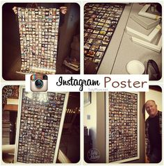 Turn Instagram photos into a poster! @cheryl ng Sousan | Tidymom.net... OMG I need to have one...