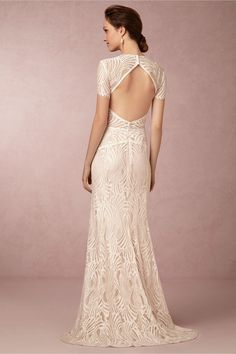 Beilin Gown in New at BHLDN - Love the open back and that lace is so beautiful. Side note: has anyone else noticed that BHLDN's Spring 2015 collection is WAYYYY more expensive than their dresses have been in the past?