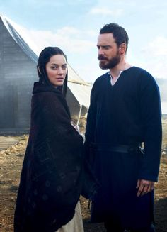 Lady and Lord Macbeth - Marion Cotillard and Michael Fassbender in Macbeth (2015, play by William Shakespeare).