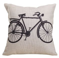 Linen Cloth Bike Pillow