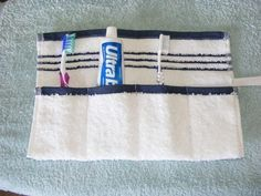 Sew up a cute little pouch, like this one from Simple Things, Sweet Life.