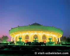 Tashkent Tour Packages From Delhi, Tashkent Group Departures from Delhi, Tashkent Nightlife Tour - Denzong Leisure Silk Road, Central Asia, Capital City, Night Life, Places To Travel, Taj Mahal, Cool Photos, Tours, Explore