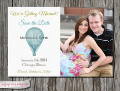 Printable Save the Date by pegsprints on Etsy, $10.00