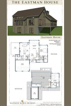 Small barn house pla