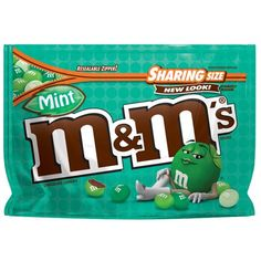 One oz sharing size bag of M&M'S Almond Chocolate Candy. Split a sharing-size bag of M&M'S Chocolate-covered Almonds with coworkers and friends or add colorful, nutty fun to brownies and desserts with M&M'S Almond Candy! Mint Chocolate Candy, Chocolate Brands, Chocolate Caramels, Almond Chocolate, Chocolate Covered, Green Candy, Mint Candy, Office Candy Dish, Peanut Candy