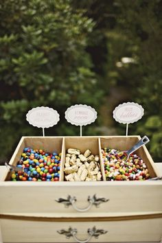 Candy drawers