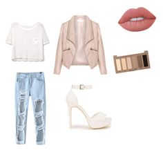 Untitled #3 by jazzpearl on Polyvore featuring polyvore MANGO Zizzi Chicnova Fashion Nly Shoes Lime Crime Urban Decay fashion style clothing