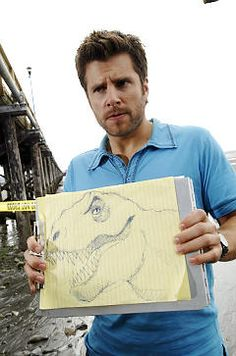 James Roday! haha I had no idea what his real name was! haha he will probablly forever be known as Shawn! haha LOVE HIM!!!!