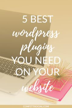 Are you trying to figure out which plugins you need on your WordPress blog? Look no further - I've got you covered!  | WordPress plugins | optimize your website | WordPress tips