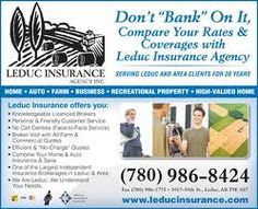 Leduc Insurance Agency - Our business