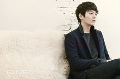 Joo Won For Cine21′s Issue No. 934 | Couch Kimchi