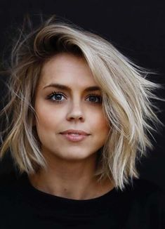 Hottest ideas of side swept short to medium hairstyles for 2018. If you are willing to get chic hair looks according to modern era of hair-styling then we recommend you to visit this page for awesome trends and combinations of short and medium hairstyles. This is stylish, feminine and modern way hair styling in 2018.
