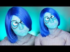 Sadness Inside Out Makeup Tutorial/Cosplay