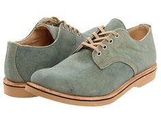 Vintage Shoe Company Daniel Faded Green Canvas - 6pm.com  $137