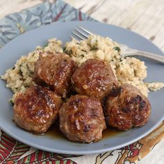 Honey Chipotle Turkey Meatballs: These are decent. I really liked the honey chipotle sauce, but there wasn't nearly enough of it for the flavor to really penetrate the meat. I'll probably make twice as much next time.