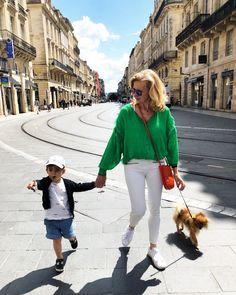 Sylvie blog enfin moi Bordeaux, White Jeans, Pants, Blog, Fashion, La Mode, Trouser Pants, Moda, Women's Pants