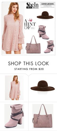 """""""SheIn 2/XV"""" by nermina-okanovic ❤ liked on Polyvore featuring Eugenia Kim and shein"""