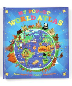 This My Pop-Up World Atlas Hardcover by Random House is perfect! #zulilyfinds
