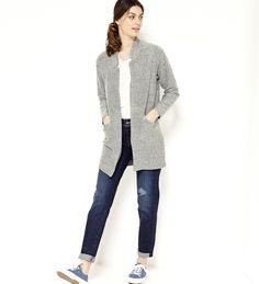 Veste grise femme camaieu