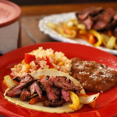 Saturday's Steak Fajitas - Big Green Egg - EGGhead Forum - The Ultimate Cooking Experience...
