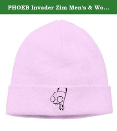 PHOEB Invader Zim Men's & Women's Beanie Cap Hat Ski Hat Caps Skull Cap Pink. ---This Warm Winter Hat Is Ideal For Any Kinds Of Winter Outdoor Activities.One Size Fits Most. ---Unisex Style.Suitable For Both Men And Women Of Varying Ages. ---Choose From Many Different Colors,Easily And Conveniently Matches Any Of.
