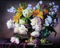 Gallery.ru / Фото #1 - Zbigniew Kopania-polski malarz peonii - himmelin