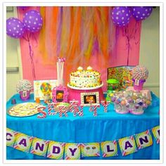 Candyland Themed Baby Shower! | Candy Items | Pinterest | Candyland And  Birthday Party Ideas