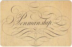Penmanship...I'm a sucker for neat penmanship!!