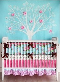 Pink is the most popular color for baby girl nursery ideas. Pink baby bedding comes in a variety of styles and fashions so you can create a picture...