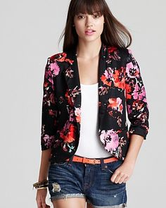 Printed Blazers For Women