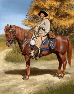 Confederate Mounted Infantry 1863 - Johnny Shumate