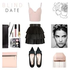 """""""Blind Date - February 16"""" by rachaelselina ❤ liked on Polyvore featuring Balmain, Glamorous, Christian Louboutin, Chanel, Bobbi Brown Cosmetics, Tom Ford, Le Métier de Beauté, STELLA McCARTNEY, Miu Miu and Victoria Beckham"""