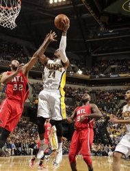 Eastern Conference Quarterfinals: Game 2 | (3) Indiana #Pacers over (6) Atlanta #Hawks 113-98. Indiana leads series 2-0.