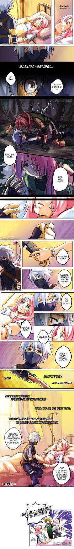 Kakasaku Age Swap: Hurt by YoukaiYume.deviantart.com on @deviantART