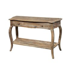 This console table sits behind a sofa or on its own as a buffet.  Store linens, candles and more in the large drawer. This piece of furniture is made using reclaimed timber. No piece is exactly alike; subtle imperfections are part of the wood's character.