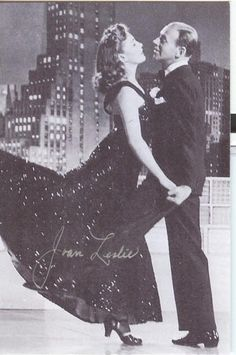 Joan Leslie and Fred Astaire