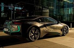 BMW i8, IBM Watson, IoT, Futuristic Car, Connected Cars, Internet of Things