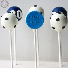 MakeUrCake - Geburtstag, Fussball Fan Cake Pops