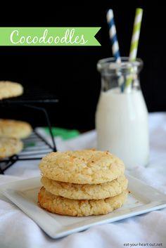 Cocodoodles: Coconut Snickerdoodle Cookies @stephiecooks