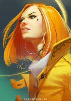 Yellow Tangerine dream by SourAcid.deviantart.com on @DeviantArt